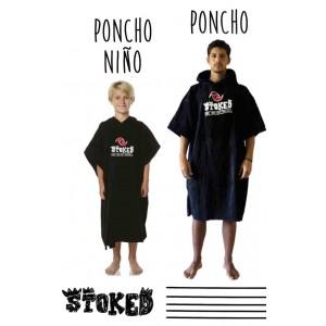 PONCHO NIÑO STOKED