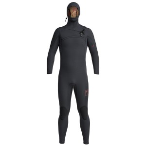5.5/4.5 MM COMP X HOODED WETSUIT BLACK